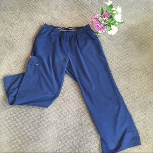 Dickie Scrub Pants Women's XL Petite Navy Blue
